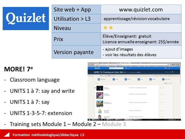 Quizlet Sets